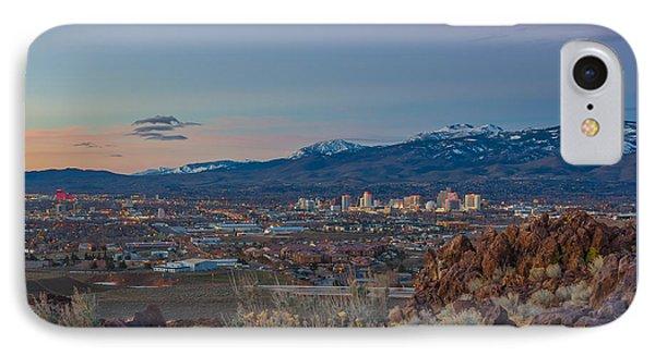 Reno Spring Sunrise IPhone Case by Scott McGuire