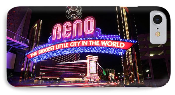 IPhone Case featuring the photograph Reno - The Biggest Little City In The World by Shawn Everhart