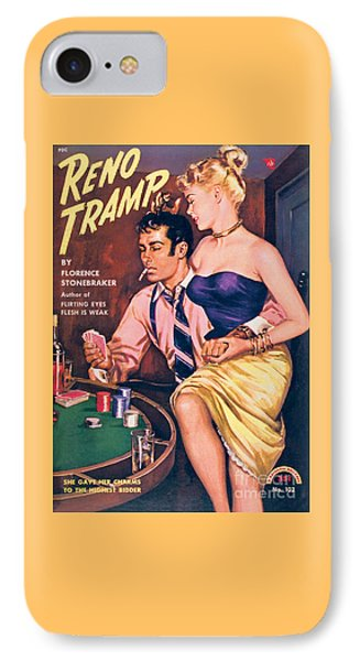 Reno Tramp IPhone Case by George Gross