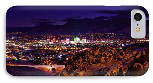 Reno Winter  IPhone Case by Scott McGuire