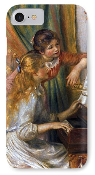 Renoir: Girls/piano, 1892 Phone Case by Granger
