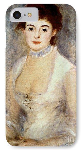 Renoir: Madame Henriot Phone Case by Granger