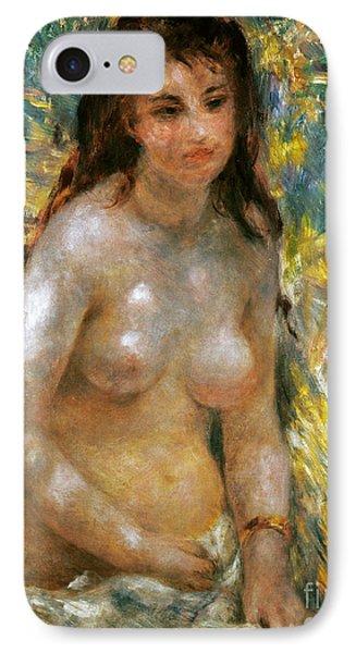 Renoir: Torso, C1876 Phone Case by Granger
