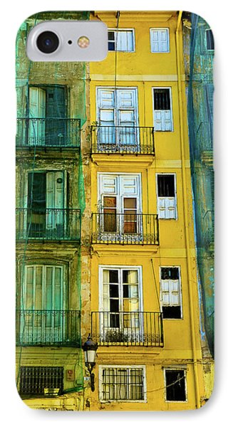 IPhone Case featuring the photograph Renovation  by Harry Spitz