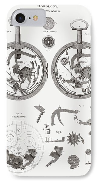 Repeating Watch. From The Cyclopaedia IPhone Case