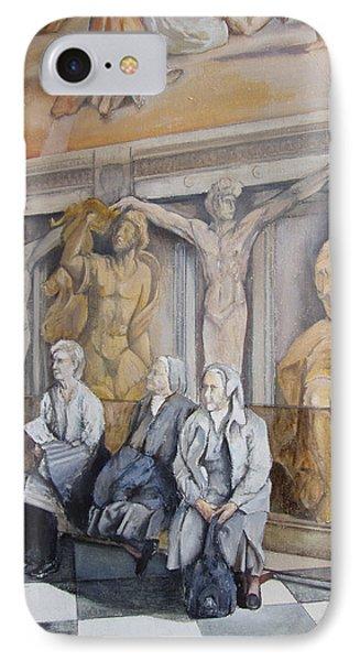 Reposo En El Vaticano Phone Case by Tomas Castano