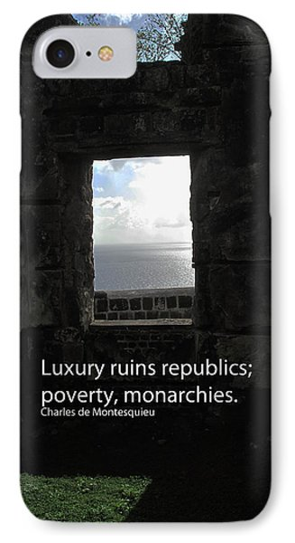 Republics And Monarchies IPhone Case by Ian  MacDonald