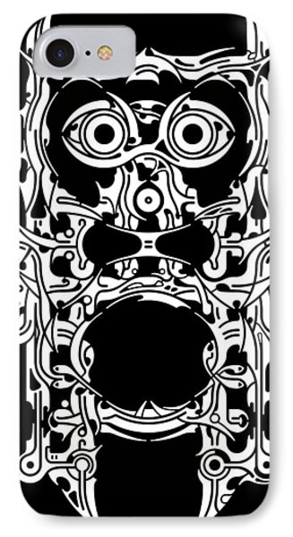 Requiem Viii Phone Case by David Umemoto