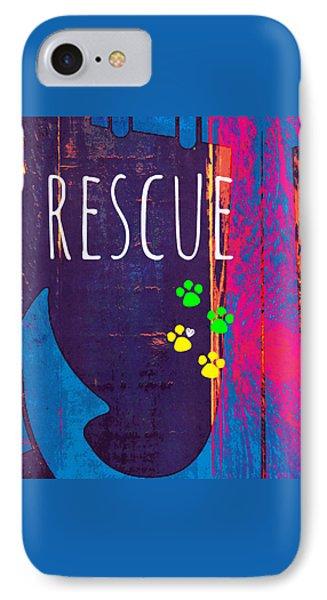 Rescue Anchor IPhone Case