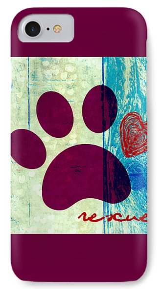 Rescue Paw 2 IPhone Case