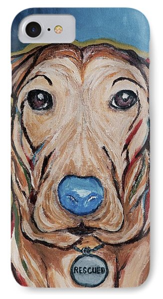Rescued IPhone Case by Victoria Lakes