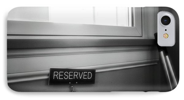 Reserved IPhone Case by Jeanette O'Toole