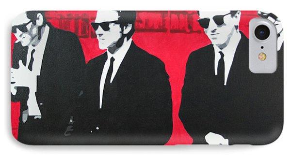 Reservoir Dogs 2013 IPhone Case by Luis Ludzska