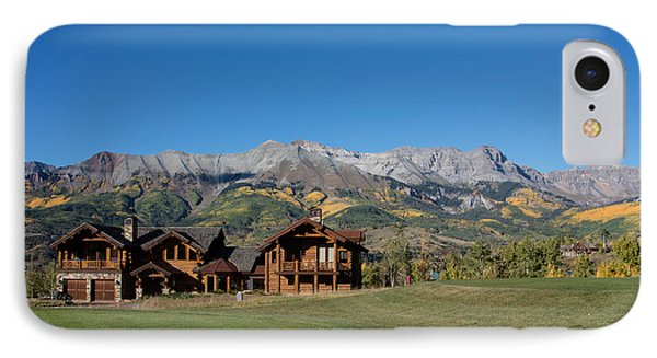 IPhone Case featuring the photograph Residences In Mountain Village -- A Planned Community Adjacent To Telluride by Carol M Highsmith