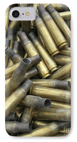 Residual Ammunition Casing Materials Phone Case by Stocktrek Images