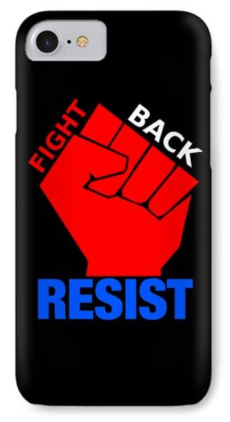 Resist 2 IPhone Case by Otis Porritt