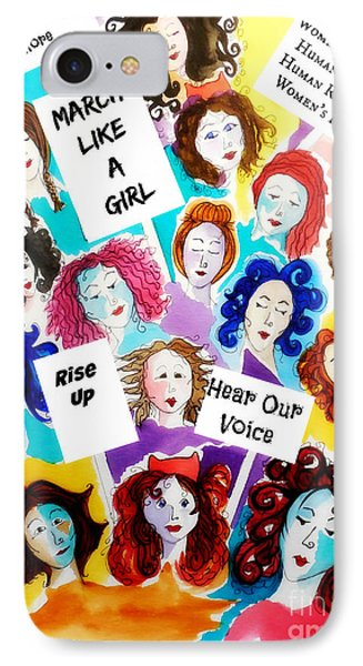 Resistance  Phone Case by Jean Fry