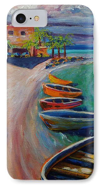 Resort Time IPhone Case by Anne Marie Brown