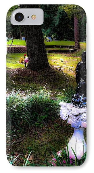 IPhone Case featuring the photograph Rest In Peace by Anthony Baatz