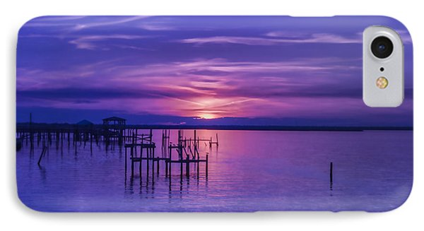 Rest Well World Sunset IPhone Case
