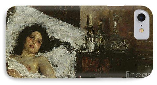 Resting IPhone Case by Antonio Mancini