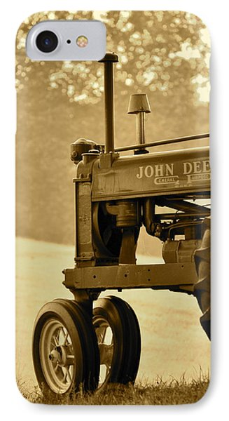 Resting In Sepia IPhone Case by JD Grimes