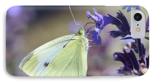 IPhone Case featuring the photograph Resting In The Purple by Kerri Farley