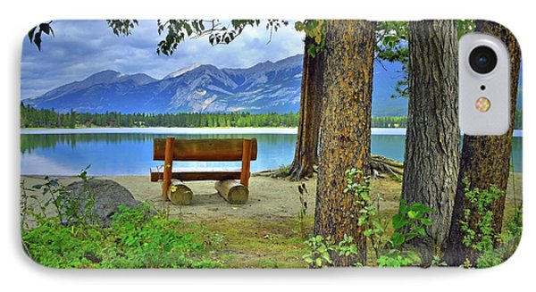 IPhone Case featuring the photograph Resting Place At Lake Annette by Tara Turner