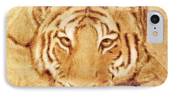 Resting Tiger IPhone Case