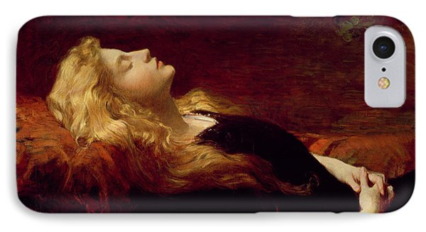 Resting IPhone Case by Victor Gabriel Gilbert