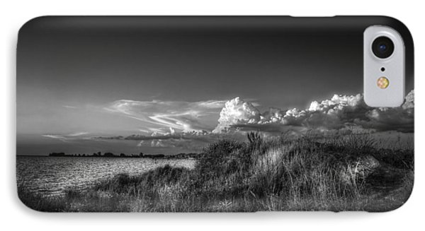 Restless Sky - Bw IPhone Case