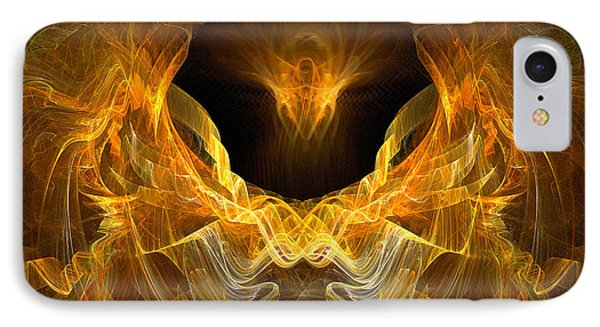 IPhone Case featuring the digital art Resurrection by R Thomas Brass