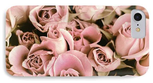 Reticent Rose IPhone Case by Jessica Jenney