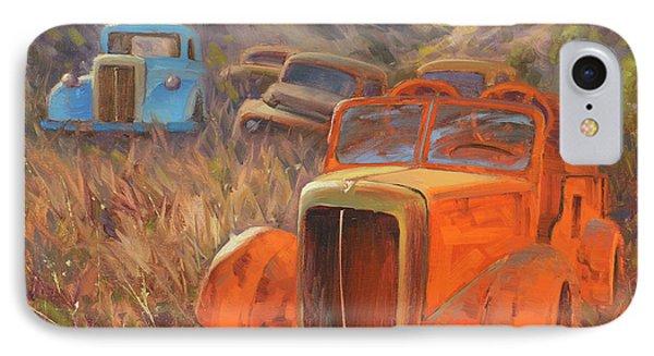 Truck iPhone 7 Case - Retired Fireman by Cody DeLong