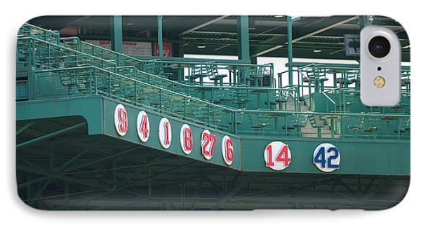 Retired Numbers Phone Case by Paul Mangold