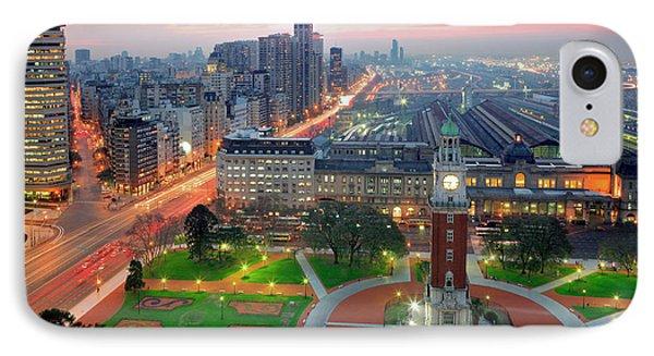 IPhone Case featuring the photograph Retiro Buenos Aires by Bernardo Galmarini
