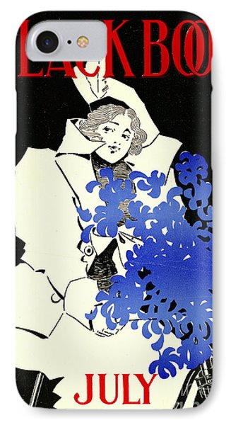 Retro Bicycle Cover 1896 IPhone Case by Padre Art