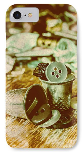 Retro Craft Buckets IPhone Case by Jorgo Photography - Wall Art Gallery