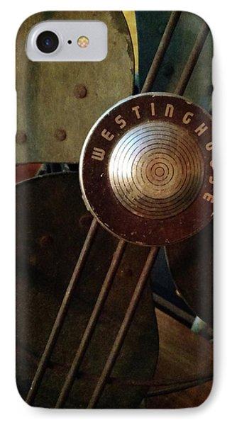 Classic Desk Fan  IPhone Case by Michelle Calkins