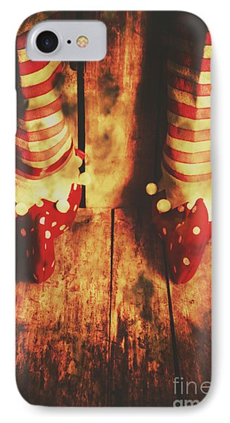 Retro Elf Toes IPhone Case