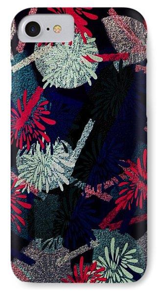 Retro Flowers IPhone Case