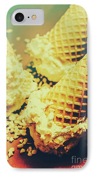 Retro Ice Cream Artwork IPhone Case