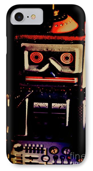 Retro Mechanical Robotics IPhone Case by Jorgo Photography - Wall Art Gallery