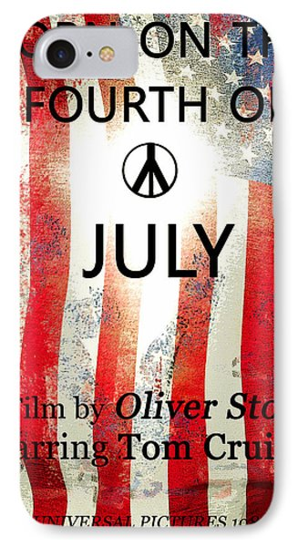 Retro Movie Poster 4th Of July IPhone Case