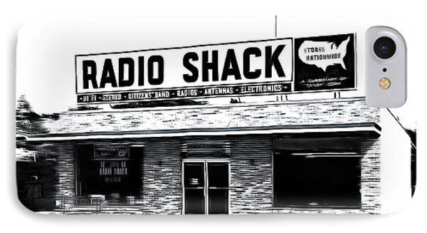 Retro Radio Shack IPhone Case