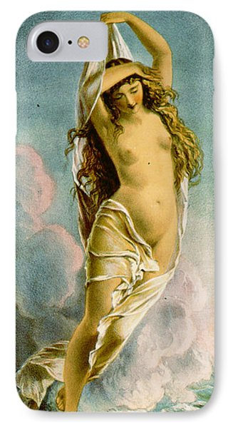 Retro Tobacco Label 1875 IPhone 7 Case by Padre Art