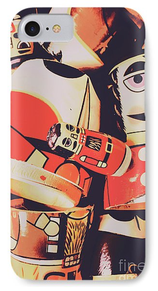 Retro Toy Memories IPhone Case by Jorgo Photography - Wall Art Gallery