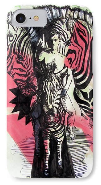 Return Of Zebra Boy IPhone Case