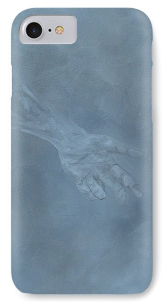IPhone Case featuring the painting Return To Dust by Judith Rhue