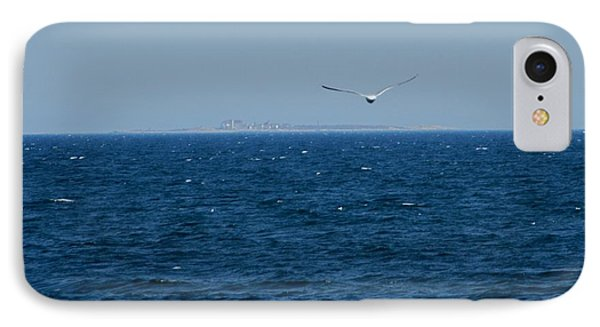 IPhone Case featuring the digital art Return To The Isle Of Shoals by Barbara S Nickerson